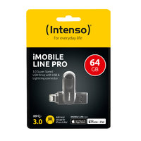 Intenso iMobile Line Pro 64 GB Lightning + USB 3.0 OTG