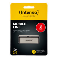 Intenso Mobile Line 8 GB USB 2.0 + micro USB OTG