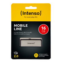 Intenso Mobile Line 16 GB USB 2.0 + micro USB OTG